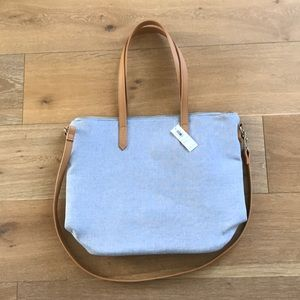 NWT Chambray blue purse